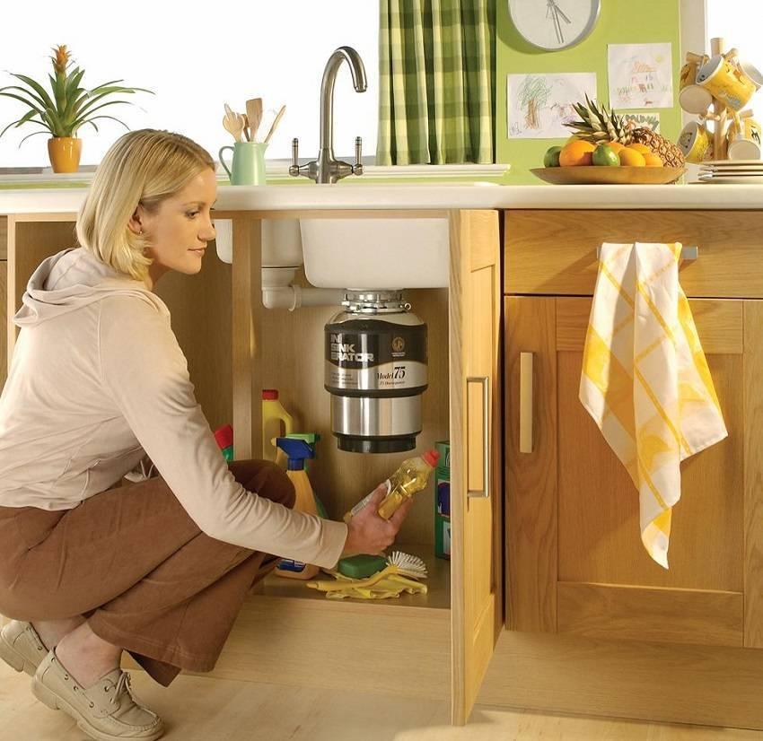 Измельчитель пищевых отходов (диспоузер) под мойку — обзор лучших моделей