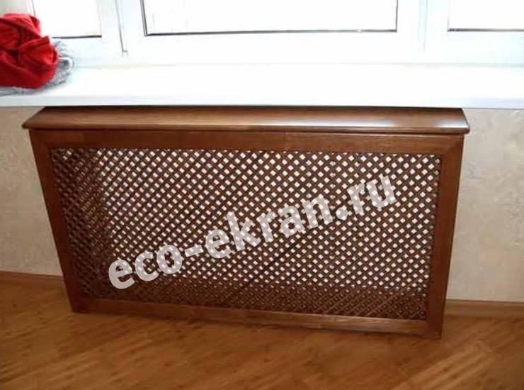 Невидимое тепло: виды декоративных экранов для радиаторов отопления