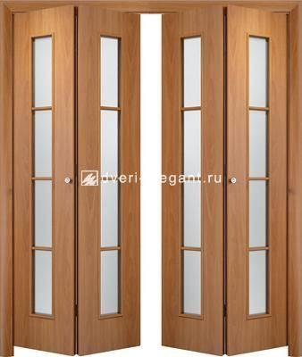 Дверь книжка: свойства и установка данной складной межкомнатной конструкции