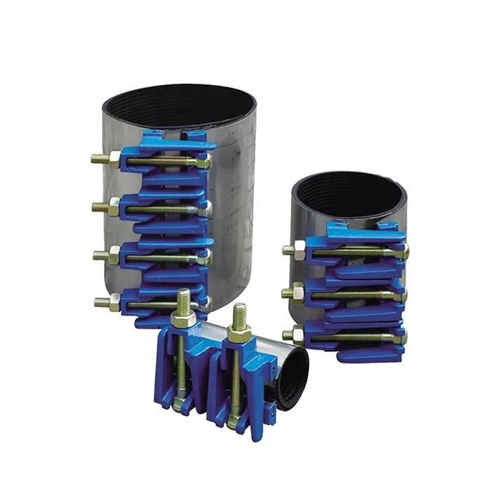 Об элементах для крепежа трубы к стенам и их использовании