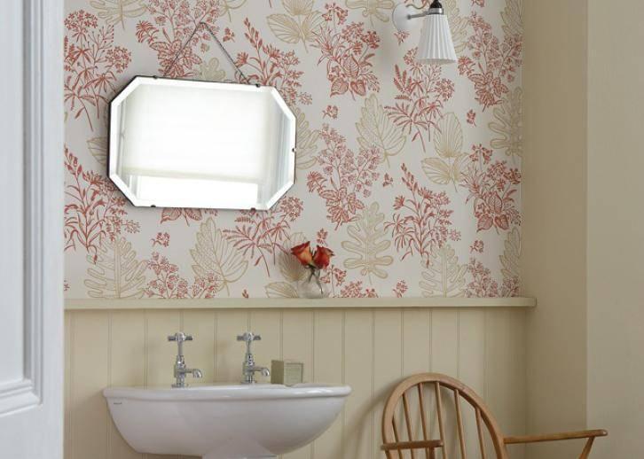 Cтеклообои для ванной комнаты: виды, как выбрать, дизайн идеи