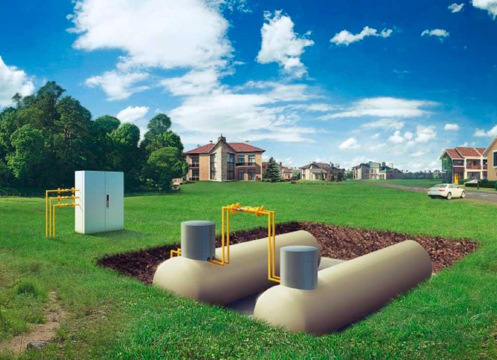 Разбираемся чем выгоднее отапливать дом? газгольдером или газовыми баллонами?