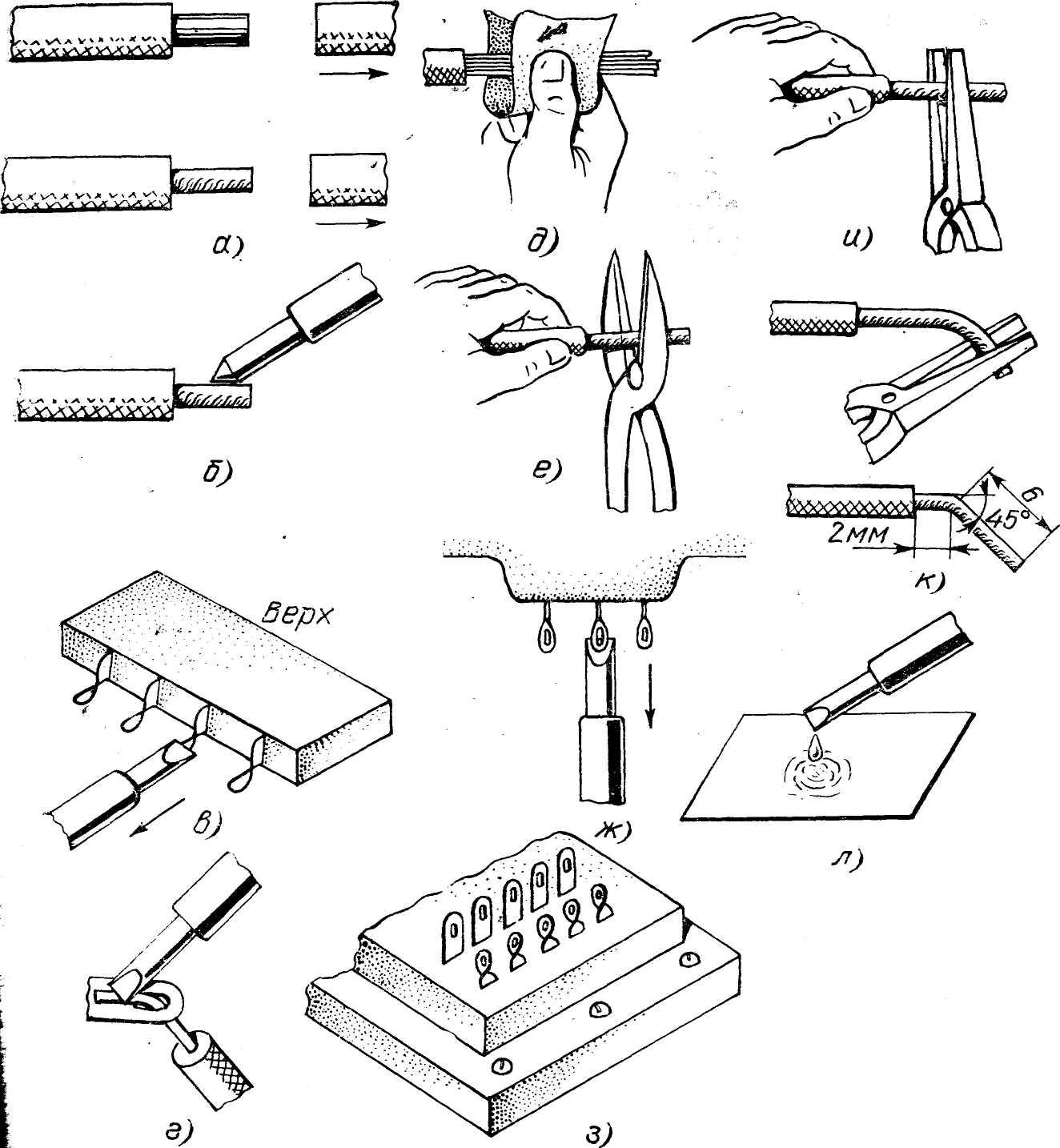 § 37. виды соединения проводов