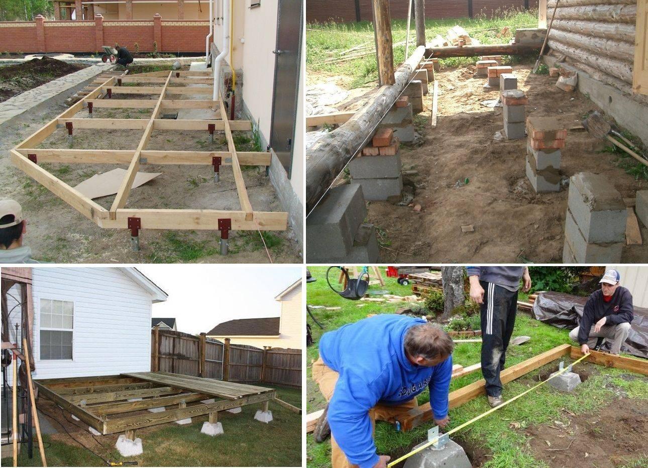 Как правильно соединить фундамент дома с фундаментом пристройки веранды?