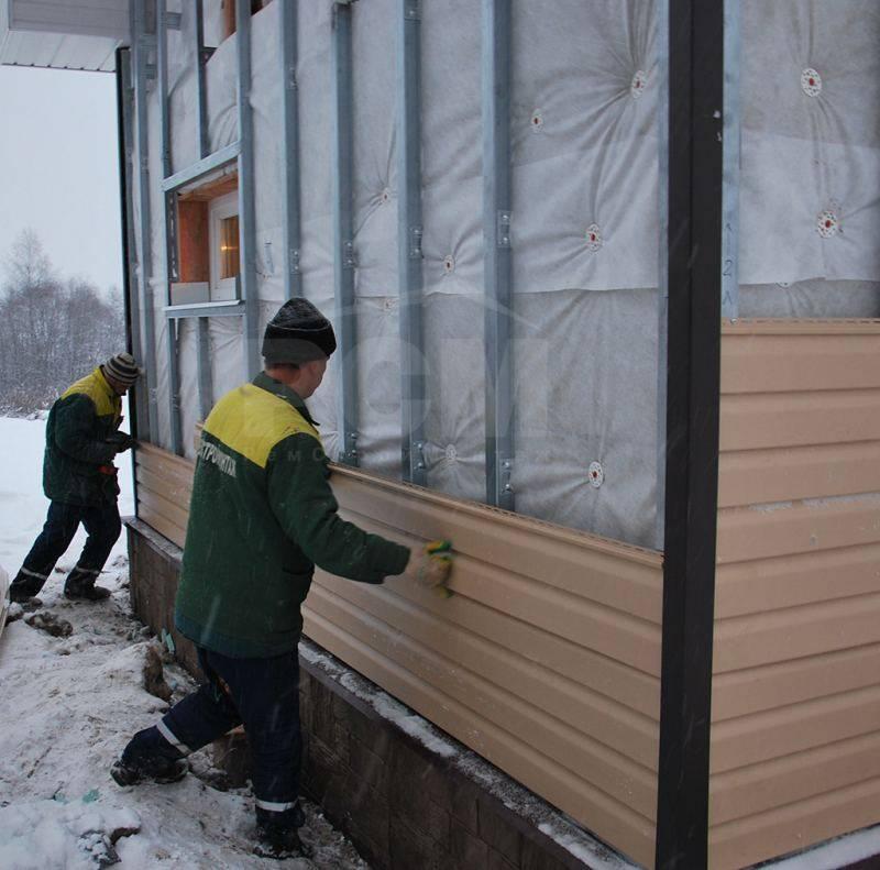 Как обшить дом сайдингом с утеплителем
