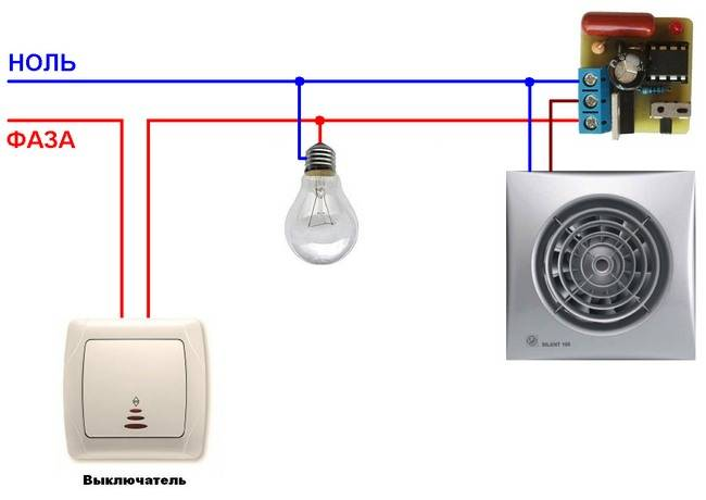 Подключение вентиляторов с таймерами: полная инструкция по монтажу