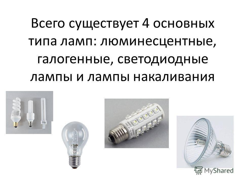 Технические характеристики и принцип работы галогеновых ламп