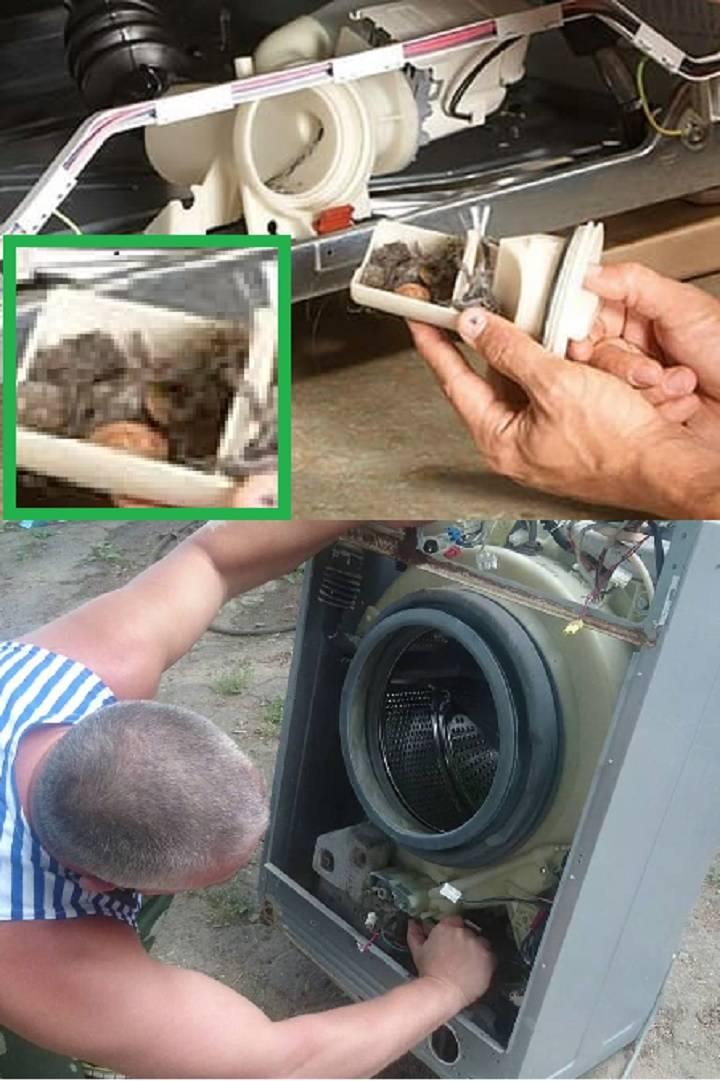Почему стиральная машина не крутит барабан и как решить проблему