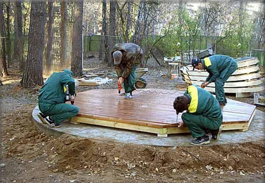 Как сделать деревянную перголу своими руками