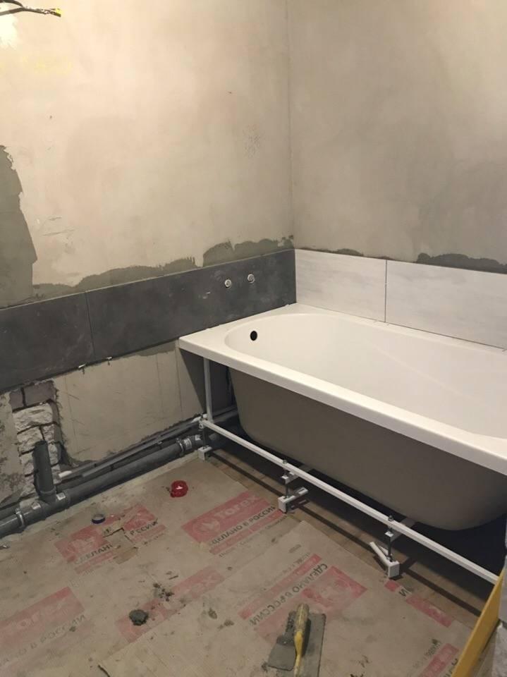 Планирование ремонта ванной и туалета своими руками
