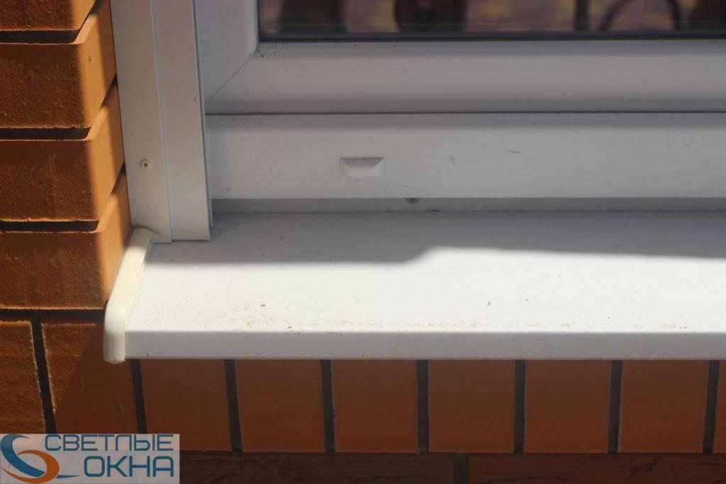 Установка отливов на пластиковые окна - замер и технология монтажа изделий