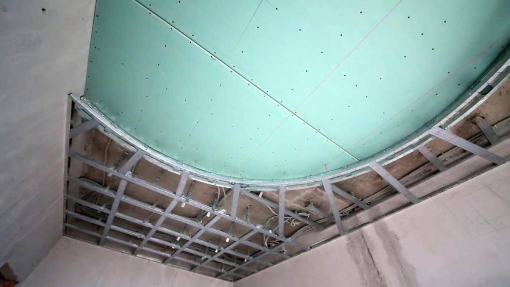 Двухуровневый потолок из гипсокартона - как сделать своими руками - строительство и ремонт