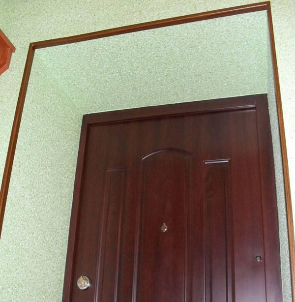 Широкие дверные откосы — варианты отделки