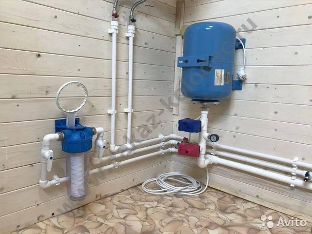 Схема водоснабжения частного дома с гидроаккумулятором: последовательность подключения элементов системы