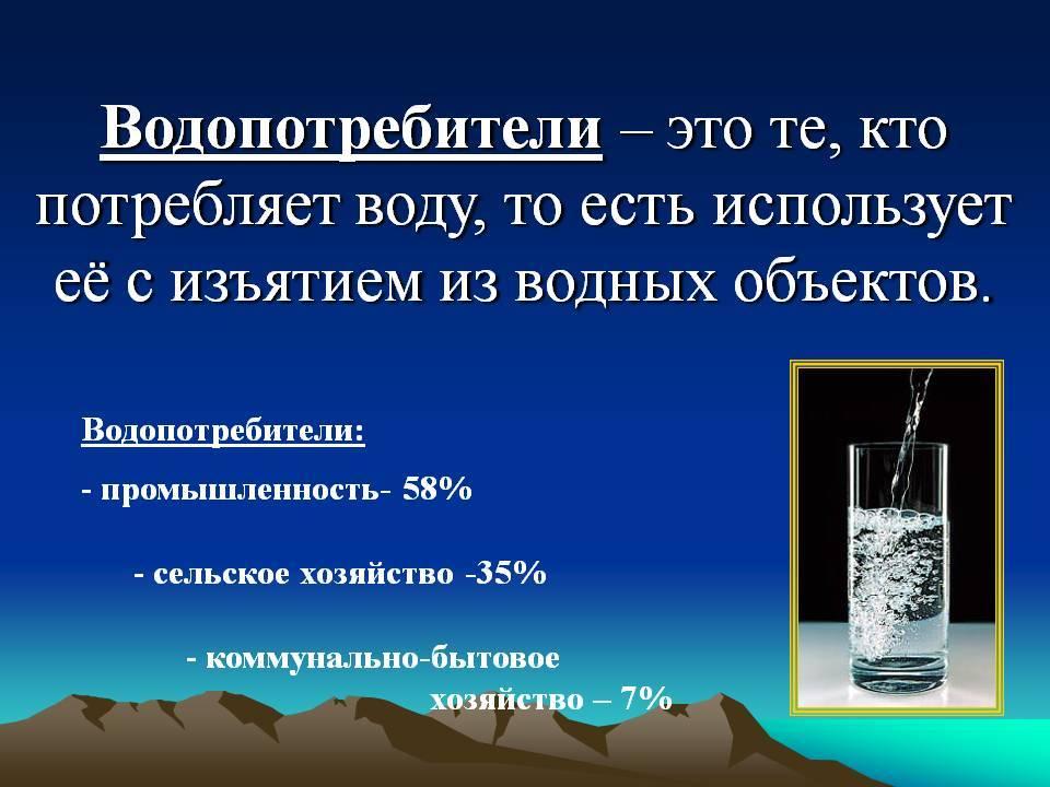 Глава 4. антропогенное воздействие на гидросферу