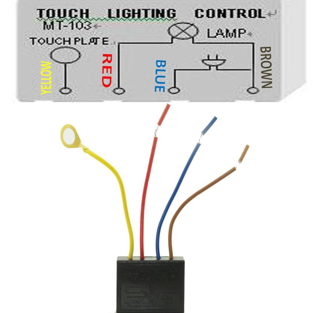 Сенсорный выключатель - 105 фото видов и принципов подключения!