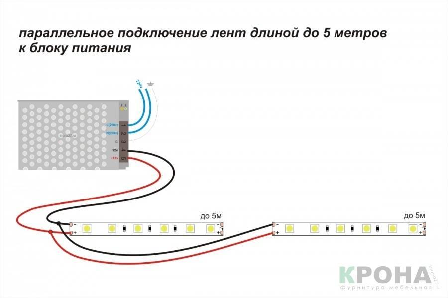 Подключение светодиода или светодиодной ленты к usb