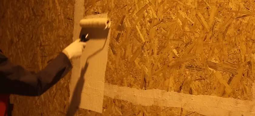 Чем покрасить осб внутри помещения и снаружи (на улице)