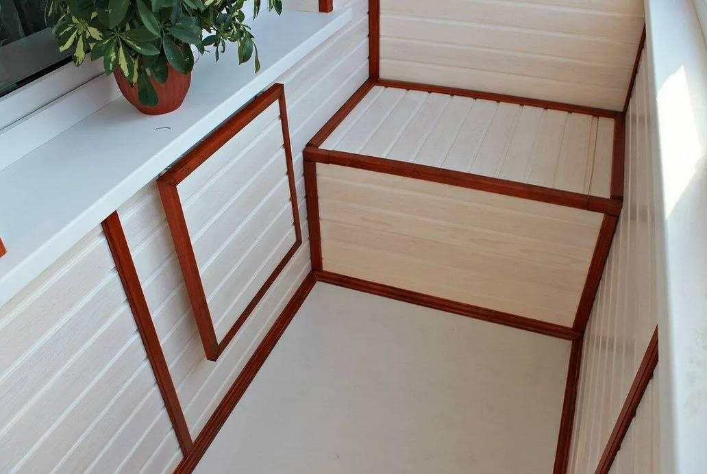 Как отделать балкон или лоджию внутри своими руками: видео и фото инструкция, обзор материалов, варианты оформления