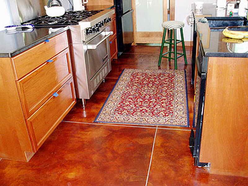 Чем застелить пол на кухне?   советы специалистов
