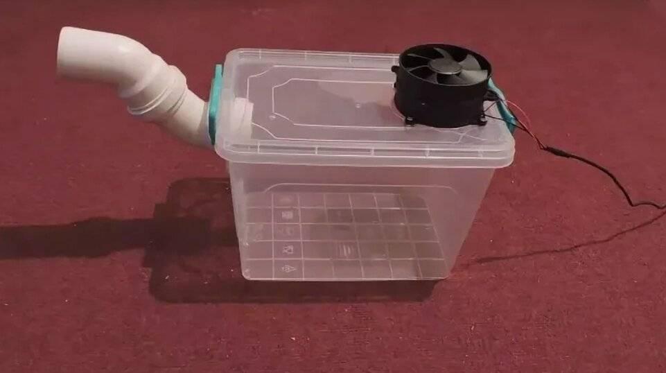 Как сделать кондиционер своими руками для дома, вариант из холодильника + видео