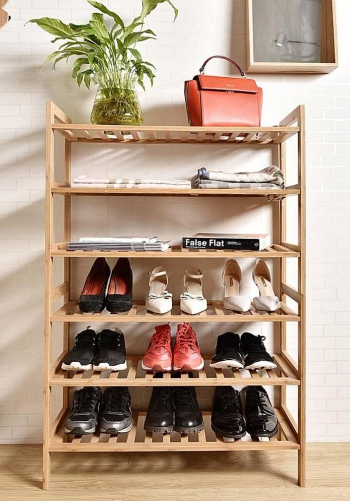 Обувница в прихожую - советы по выбору лучших моделей и секреты их применения в дизайне интерьера (видео + 70 фото)
