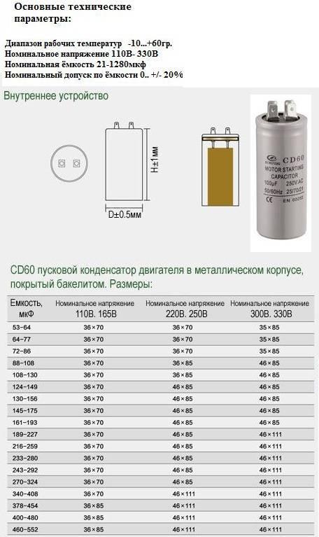Как подобрать конденсатор для трехфазного двигателя калькулятор