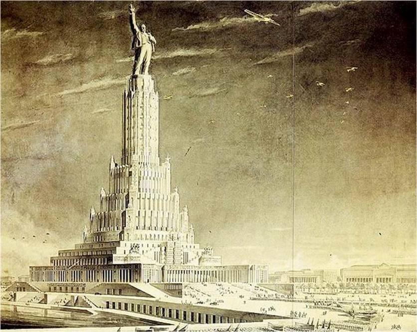 9 архитектурных проектов ссср, которые не были реализованы