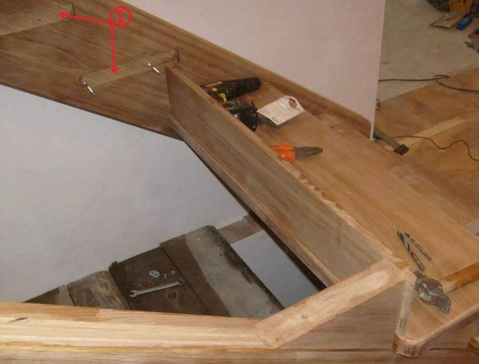 Деревянная лестница своими руками: разбираемся в типовых конструкциях на второй этаж