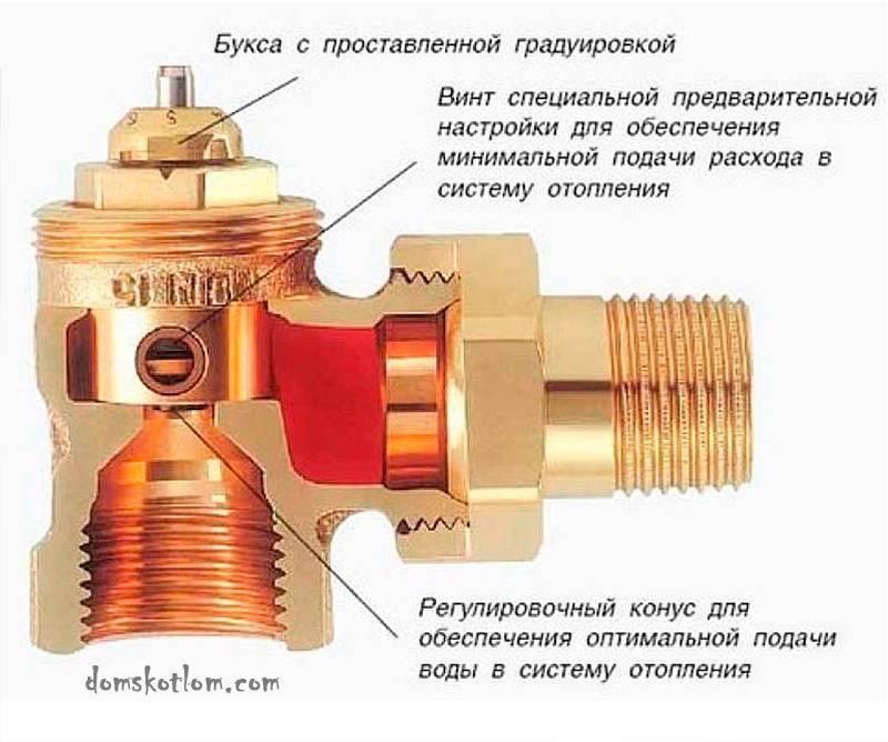 Вентиль отопления инструкции по выбору и монтажу устройства