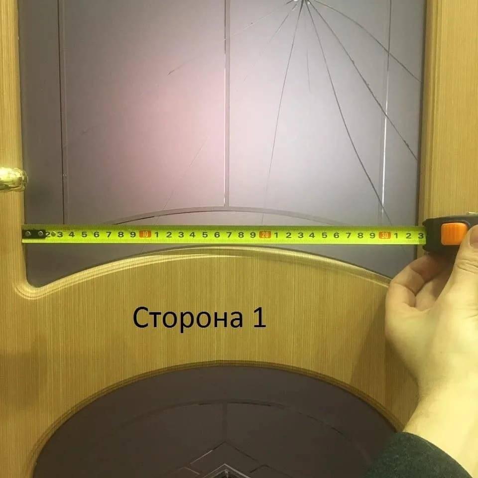 Замена стекла в межкомнатной двери : ремонт разбитого стекла, как вставить или поменять своими руками
