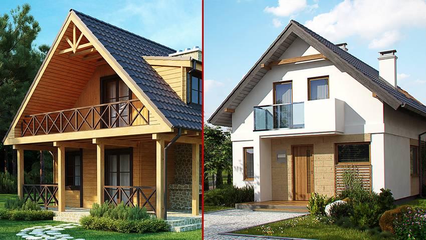 Мастера отвечают - какой дом лучше из бруса или каркасный?