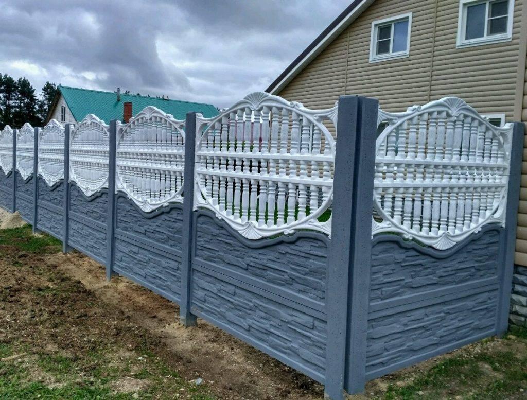 Высота и нормы установки забора между соседями