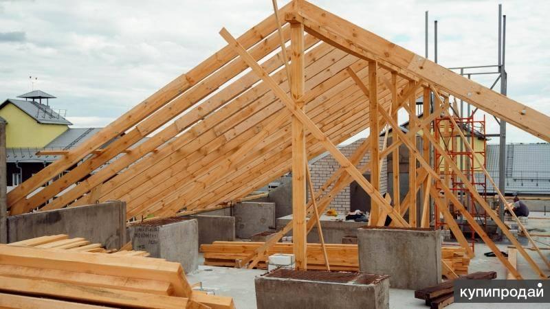 Строительство крыши частного дома своими руками: пошагово