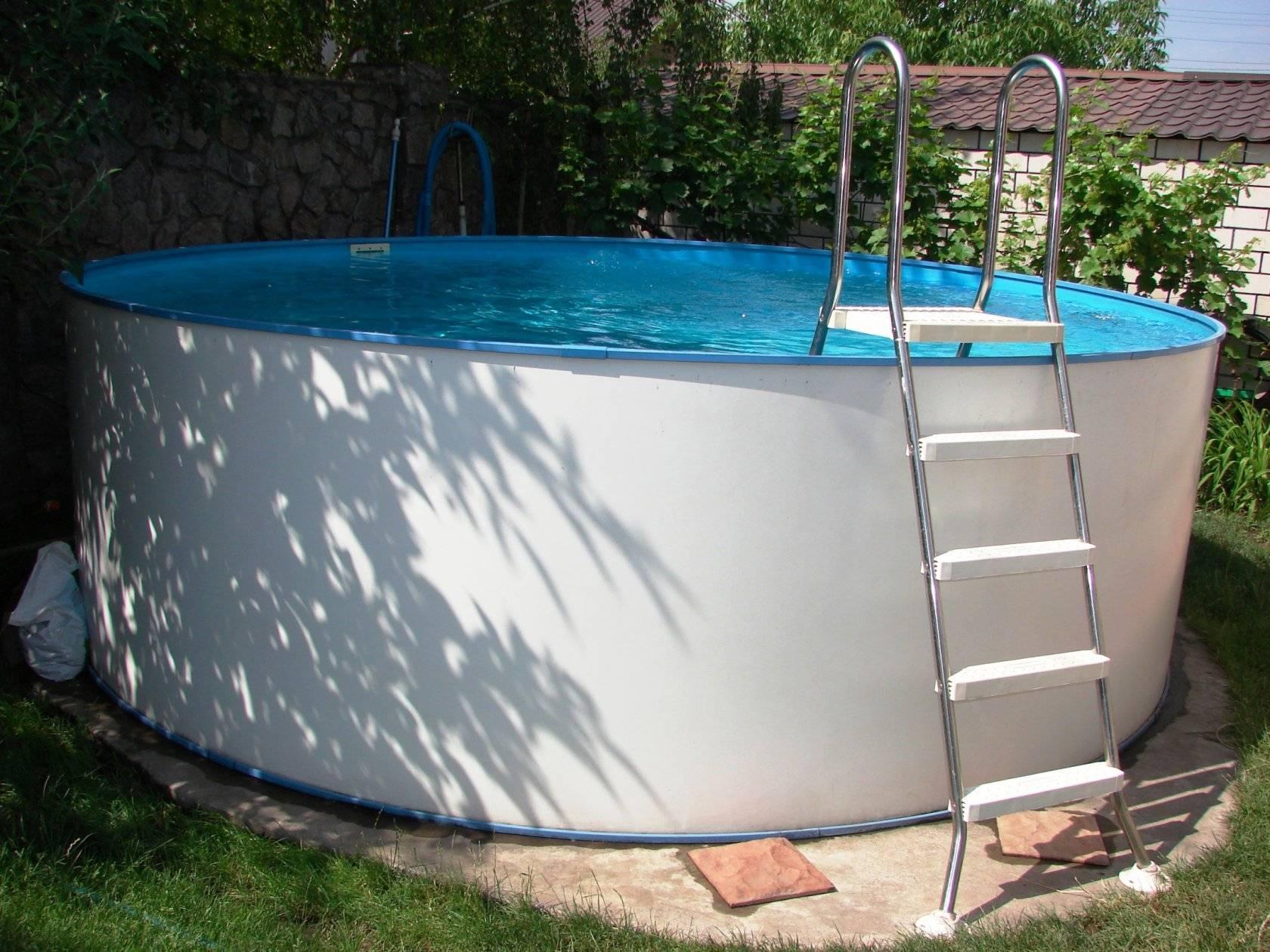 Как установить каркасный бассейн на даче - пошаговая инструкция