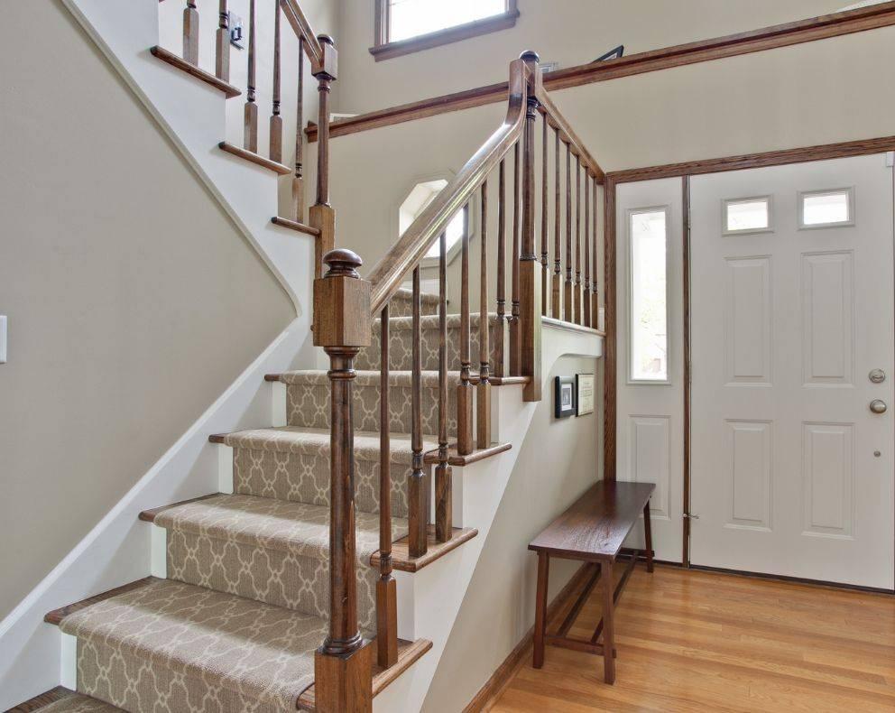 Бетонная лестница в частном доме: виды, монтаж, отделка