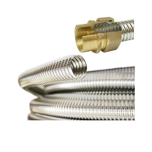 Нержавеющие гофрированные трубы - трубы и сантехника