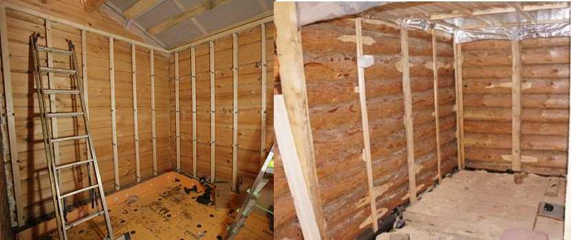 Внутренняя отделка дома из бревна: идеи оформления