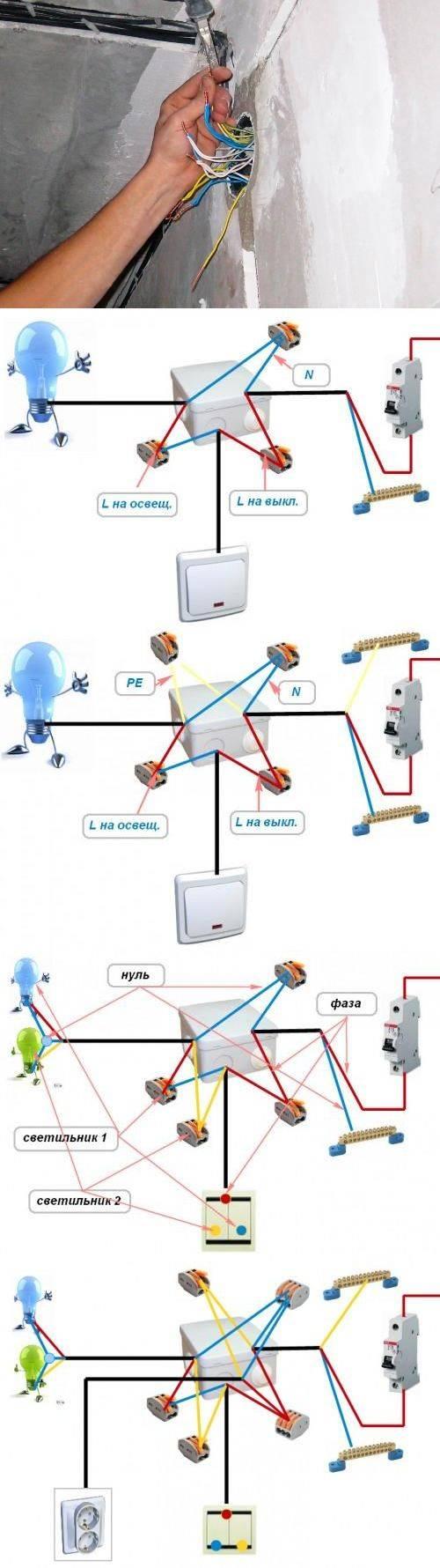 Как соединить провода в коробке: скрутка, пайка, опрессовка проводов, применение самозажимных клемм