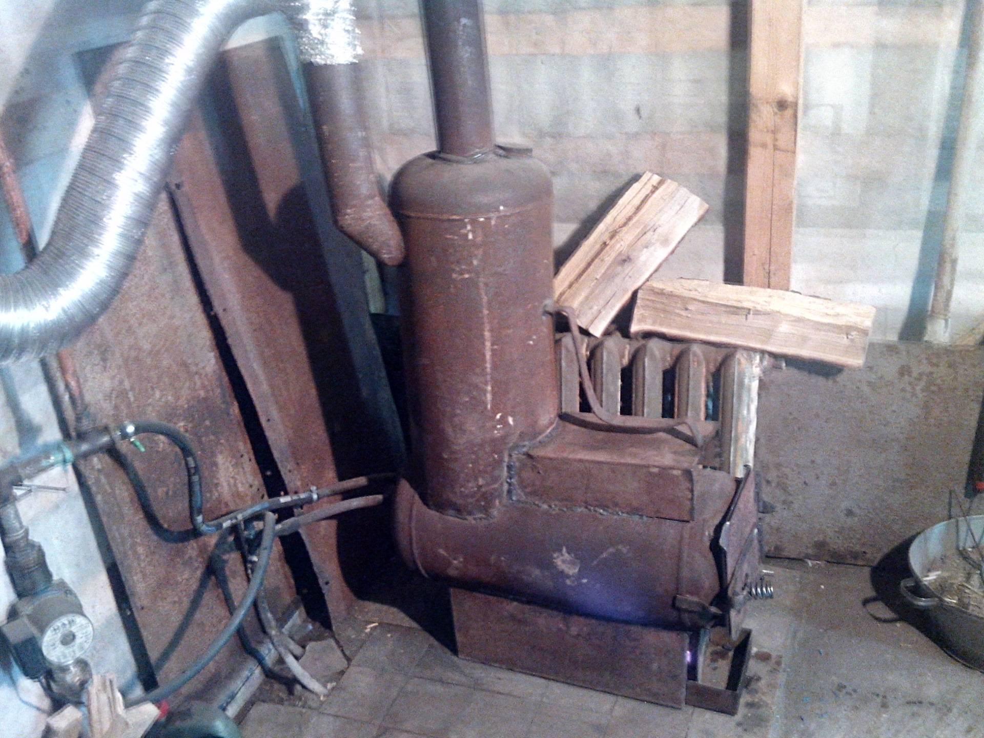 Теплообменник на трубу дымохода