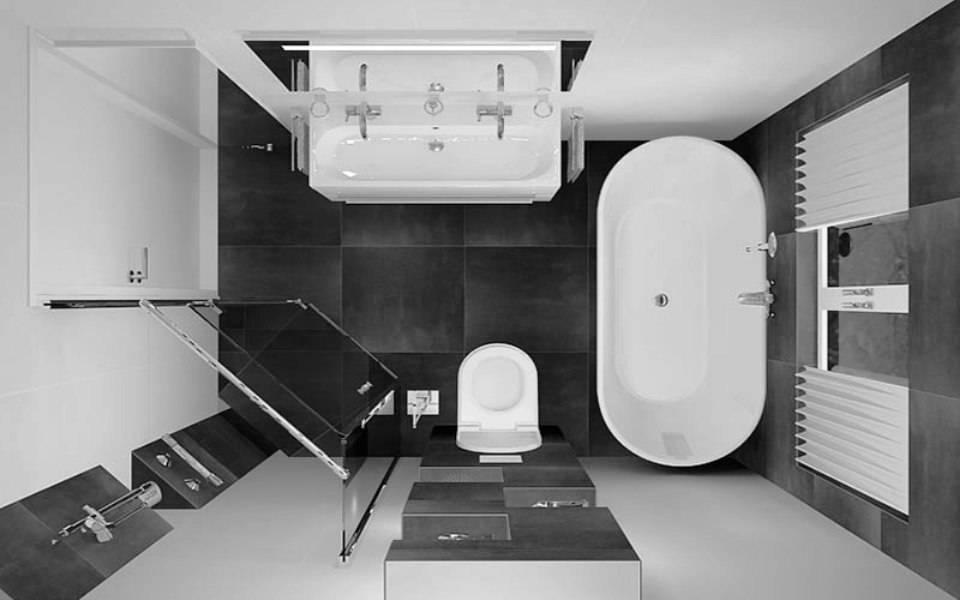 Дизайн ванны 2 кв. м.: 100 фото лучших идей оформления интерьера своими руками