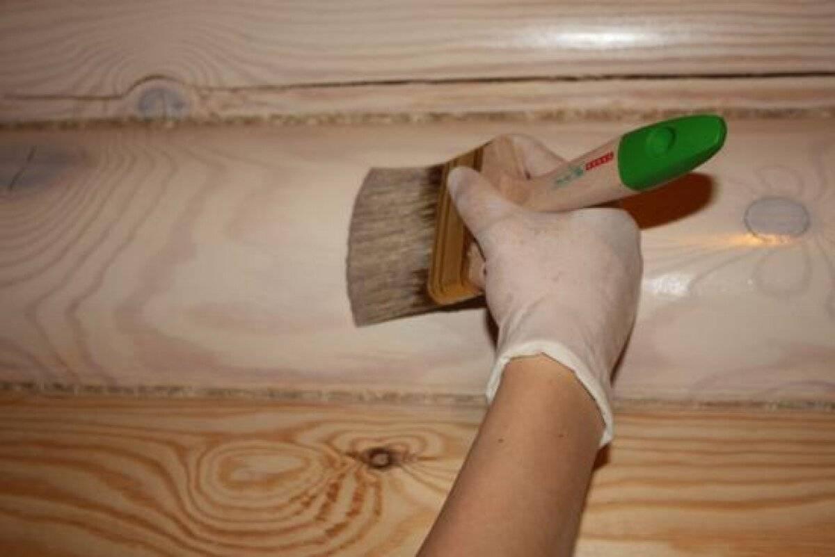 Чем обработать вагонку внутри помещения (дома, бани): различные пропитки