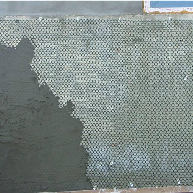 Штукатурка по сетке: технология крепления штукатурного полотна к стене (видео)