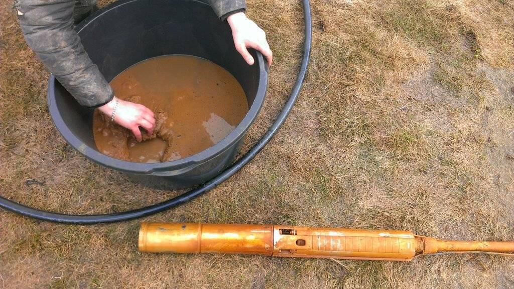 Промывка и чистка скважин своими руками