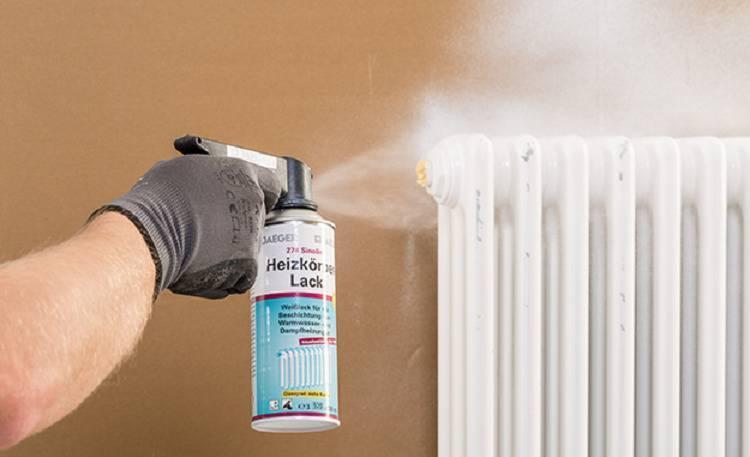 Как покрасить батарею отопления: выбираем краску и правильно проводим работу своими руками