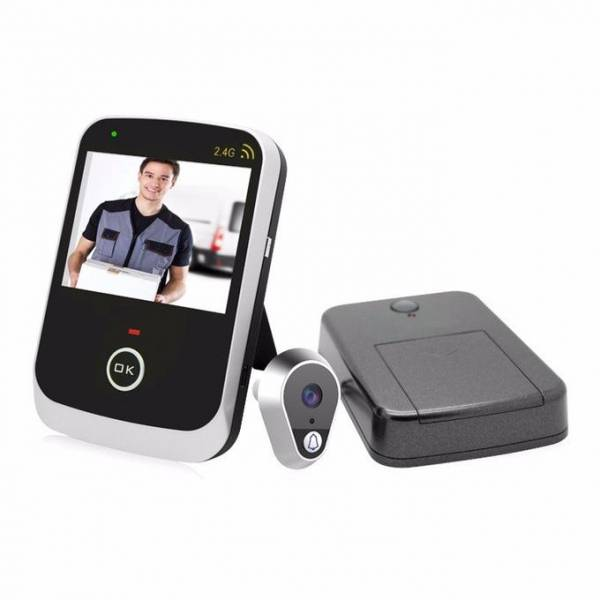 Как выбрать видеоглазок для входной двери: тип, угол обзора и датчик движения