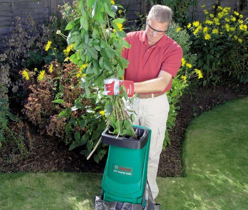 Садовые измельчители — виды, особенности и рейтинг моделей