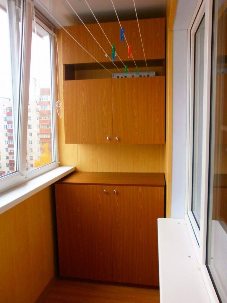 Шкаф на балкон своими руками: пошаговая инструкция