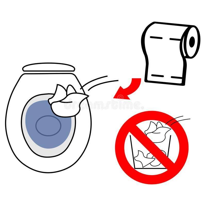 Влажные салфетки, кошачий наполнитель, подгузники: 7 вещей, которые не стоит смывать в унитаз