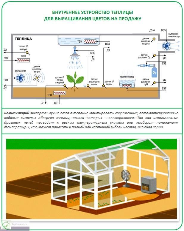 Автоматическая вентиляция теплицы: разновидности, инструкция по изготовлению, плюсы и минусы